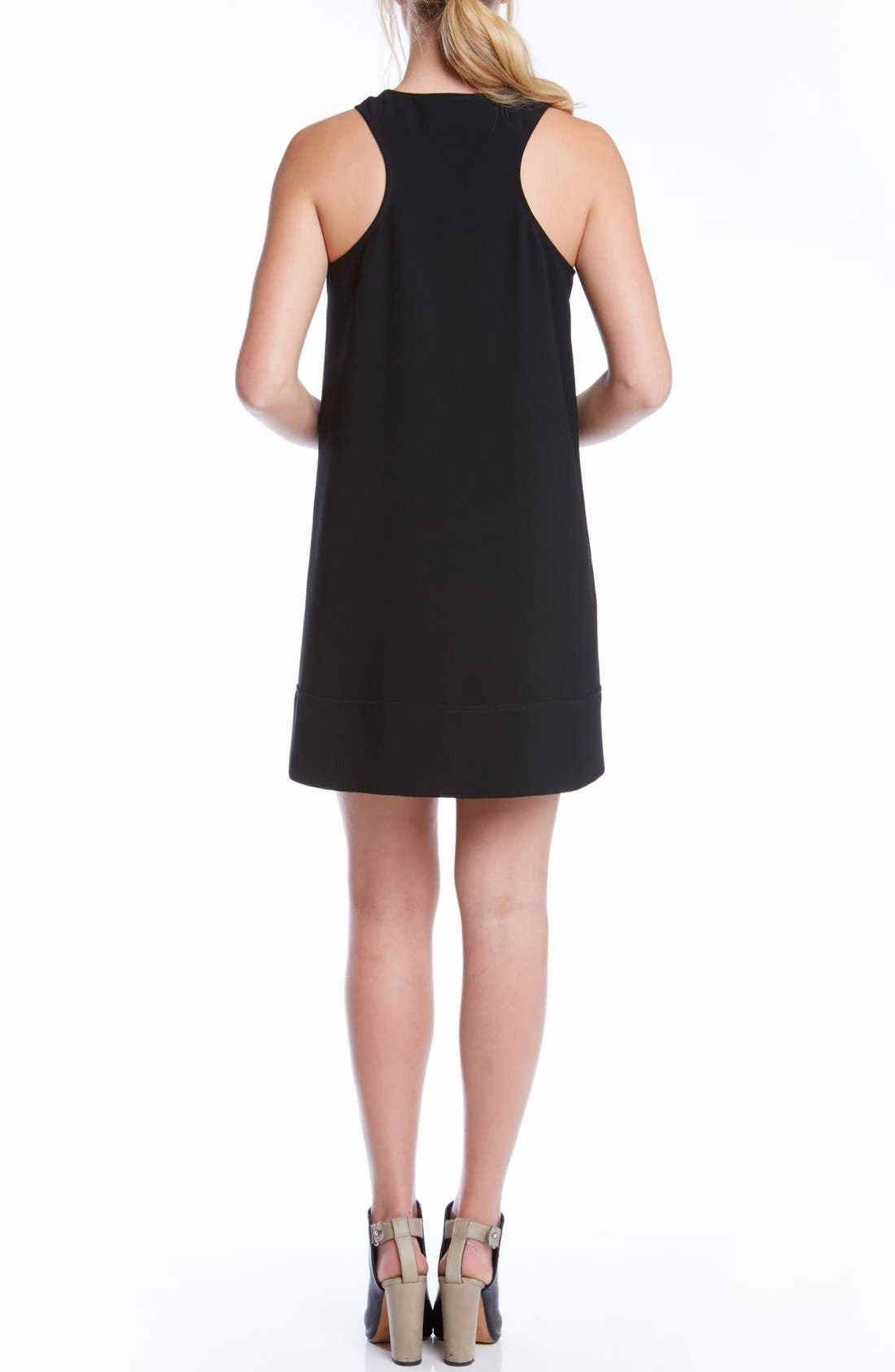 Alternate Image 3  - Karen Kane Crepe Racerback Shift Dress