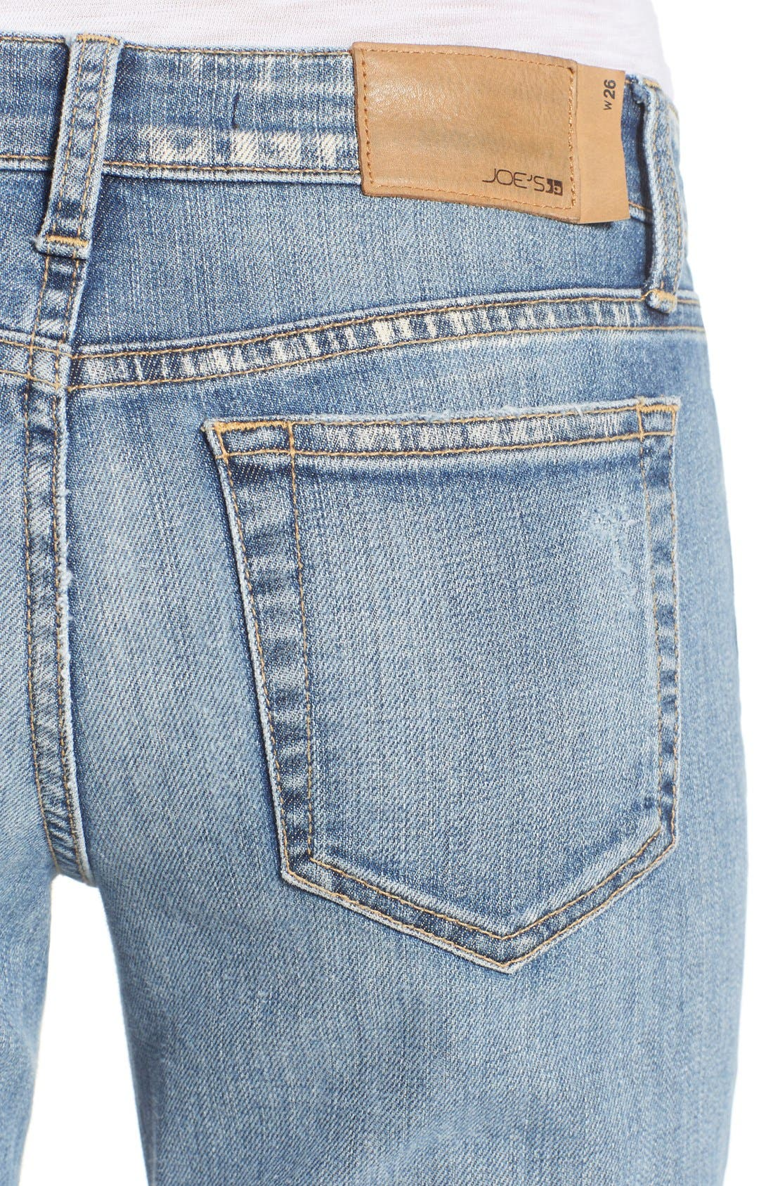 'Collector's - Ex Lover' Straight Leg Jeans,                             Alternate thumbnail 5, color,                             Bev