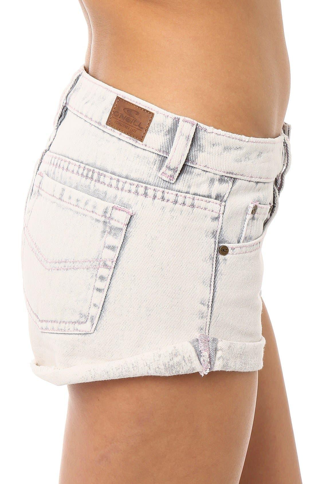 Alternate Image 4  - O'Neill 'Shyla' Denim Shorts