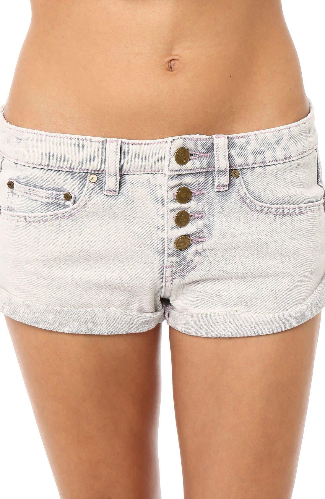 Alternate Image 1 Selected - O'Neill 'Shyla' Denim Shorts