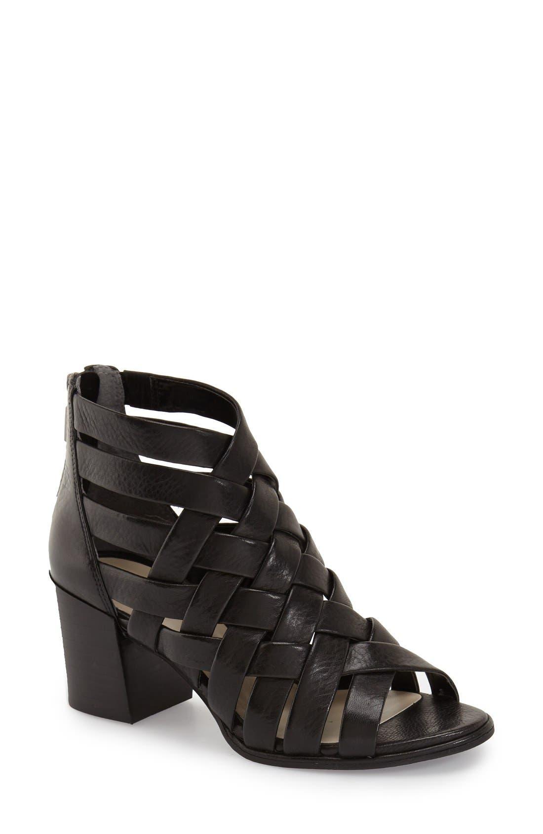 'Charlene' Sandal,                         Main,                         color, Black