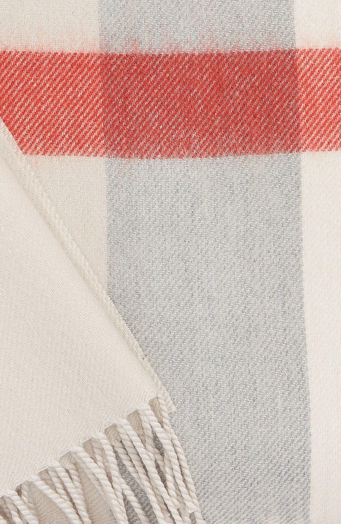 Merino Wool Baby Blanket,                             Alternate thumbnail 2, color,                             Heritage Stone
