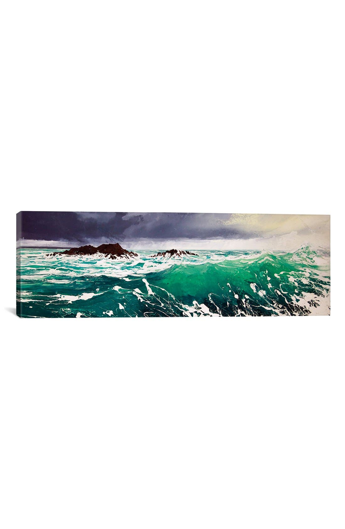 'North Westerly' Giclée Print Canvas Art,                         Main,                         color, Green