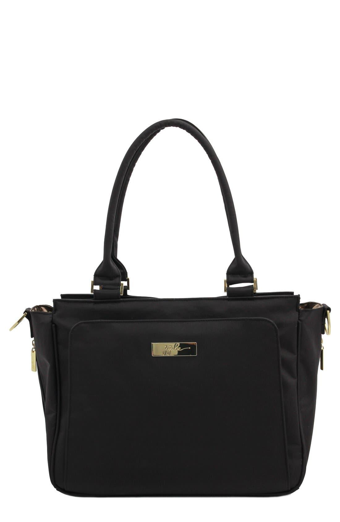 'Be Classy' Messenger Diaper Bag,                         Main,                         color, The Monarch
