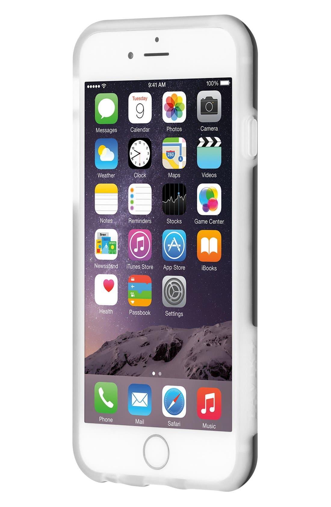 Hollow iPhone 6/6s Case,                             Alternate thumbnail 2, color,                             Black
