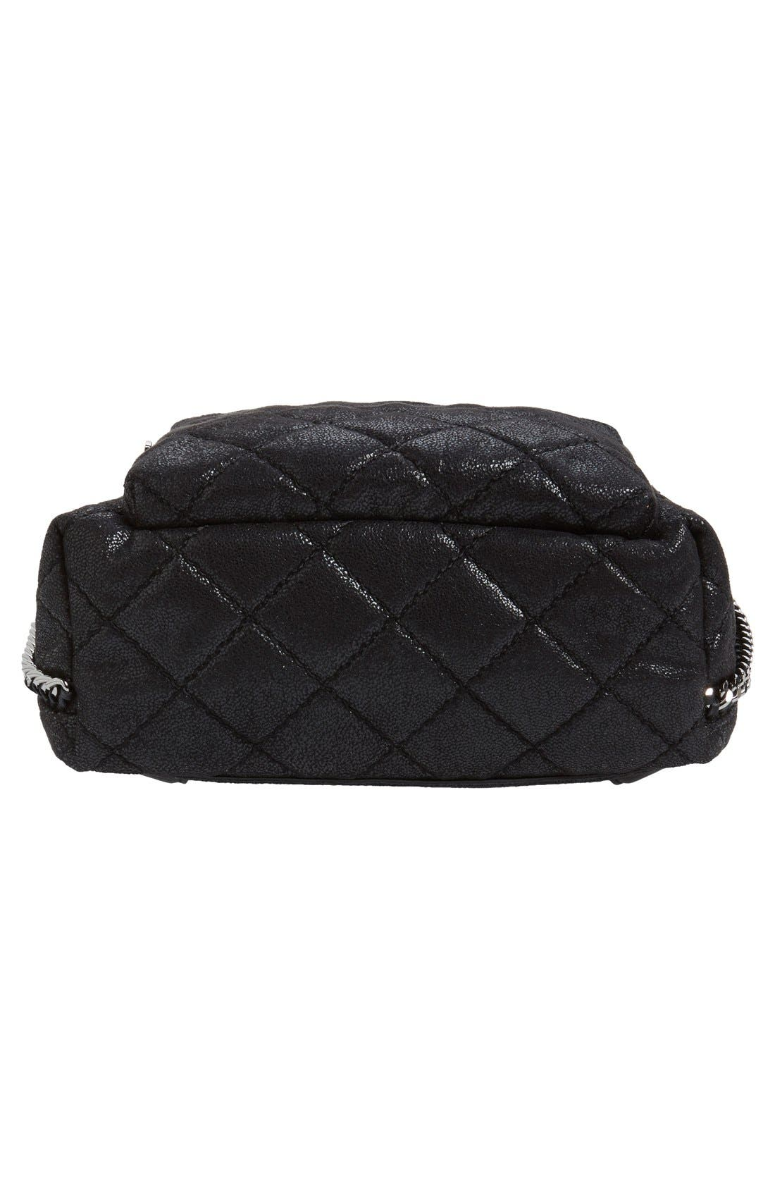 Alternate Image 6  - Stella McCartney 'Mini Falabella' Faux Leather Quilted Backpack