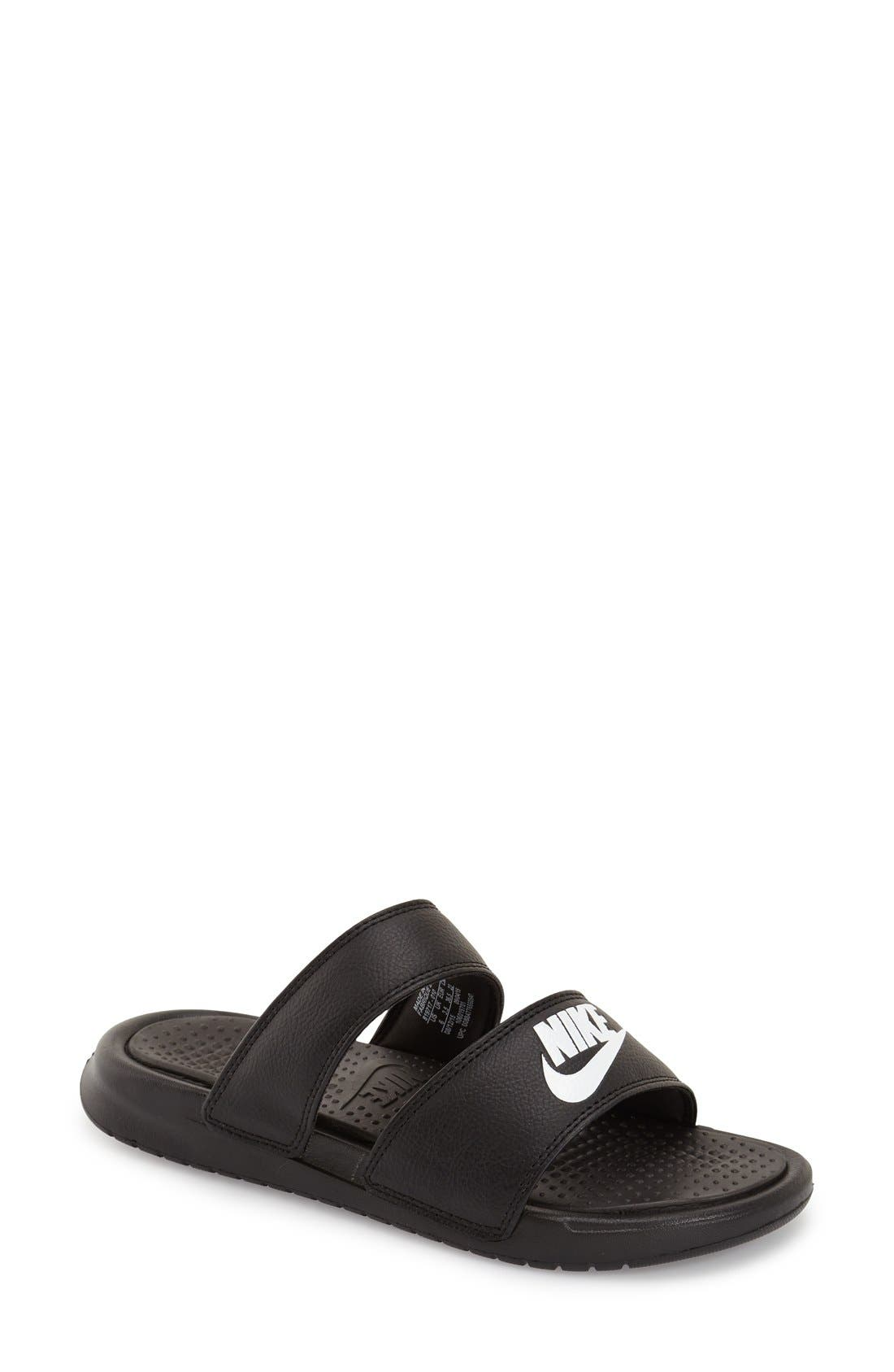 Alternate Image 1 Selected - Nike 'Benassi - Ultra' Slide Sandal (Women)