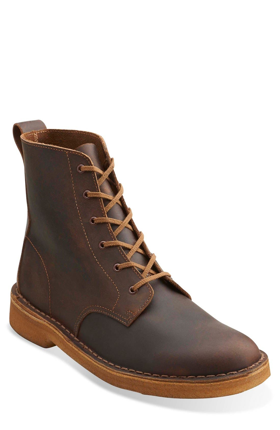 'Desert Mali' Boot,                         Main,                         color, Beeswax Leather