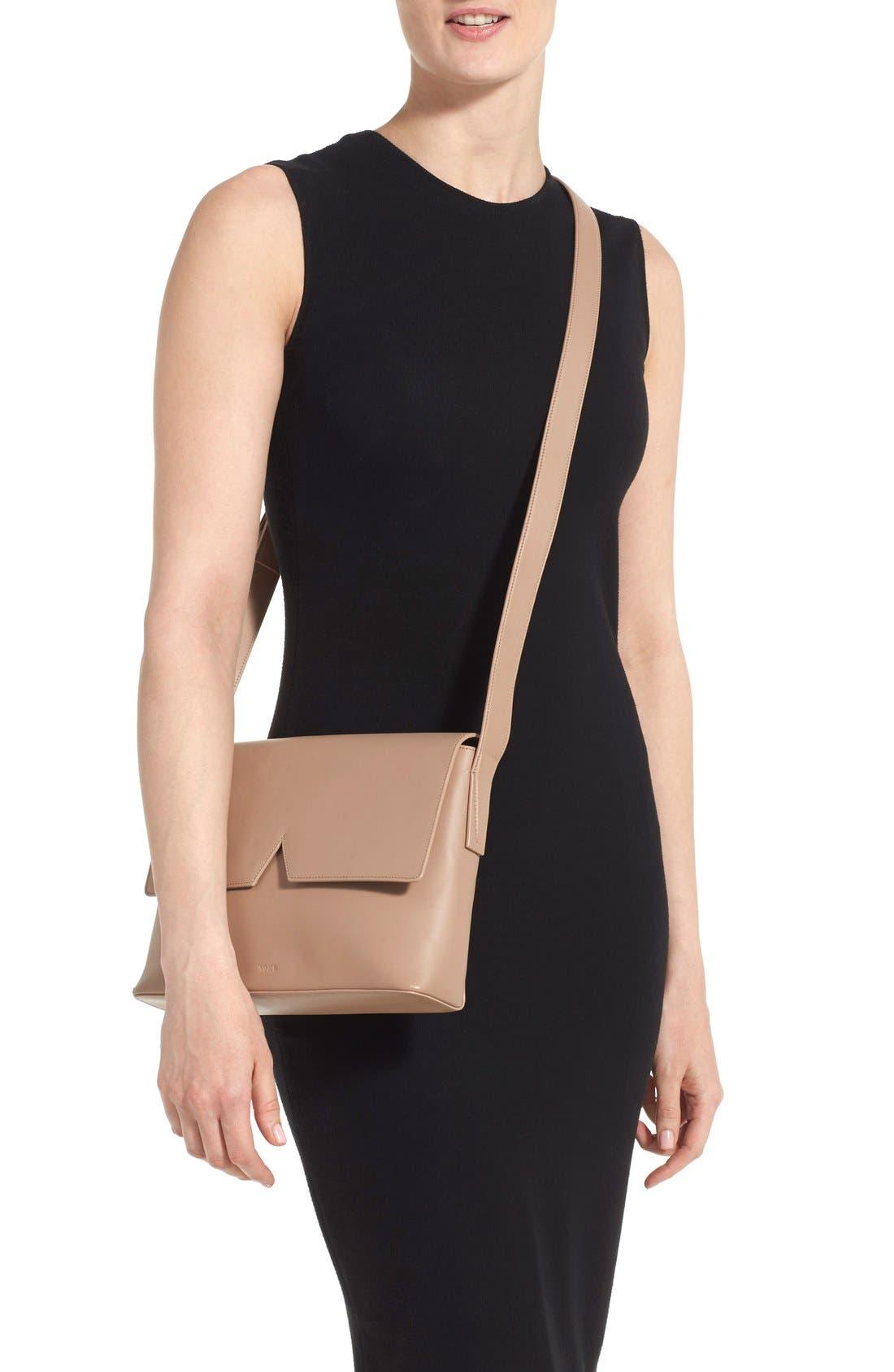 Alternate Image 2  - Vince 'Medium Signature' Leather Crossbody Bag