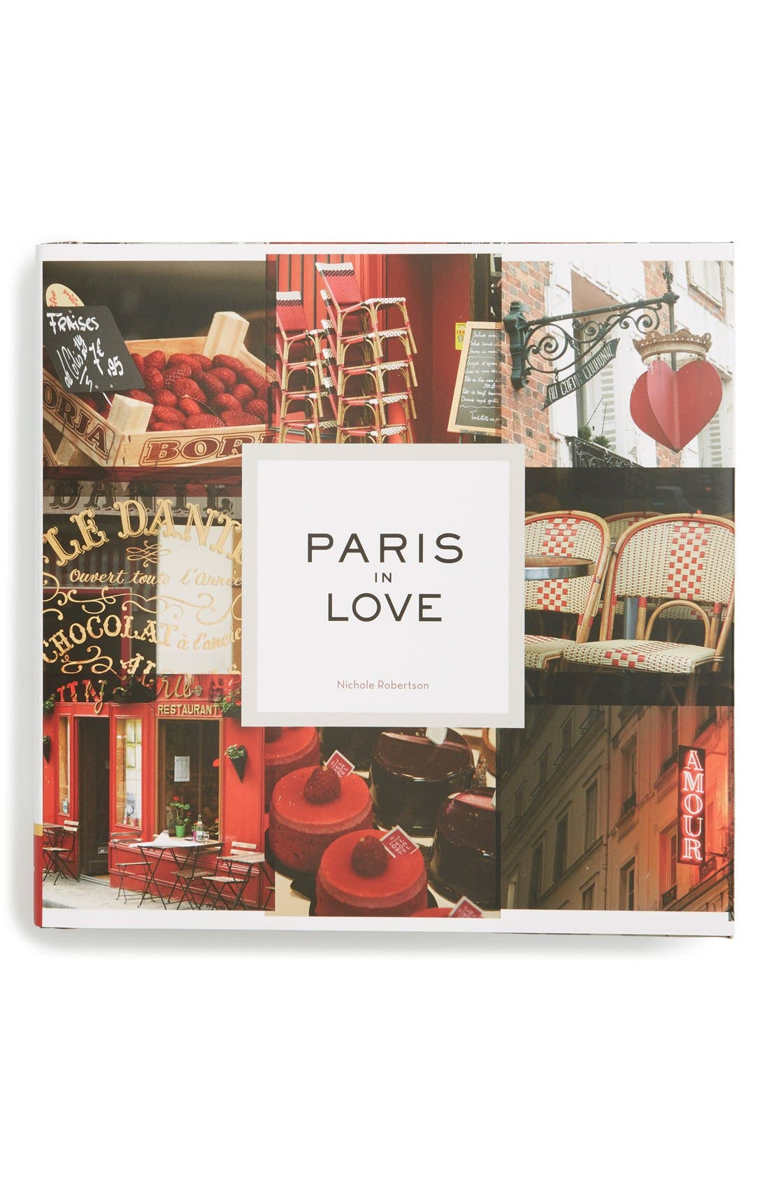 'Paris in Love' Book,                         Main,                         color, Open Miscellaneous