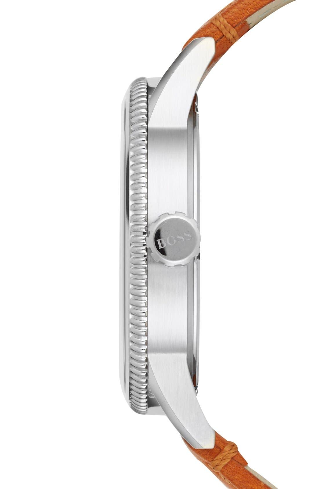 Alternate Image 3  - BOSS 'Pilot' Watch, 44mm