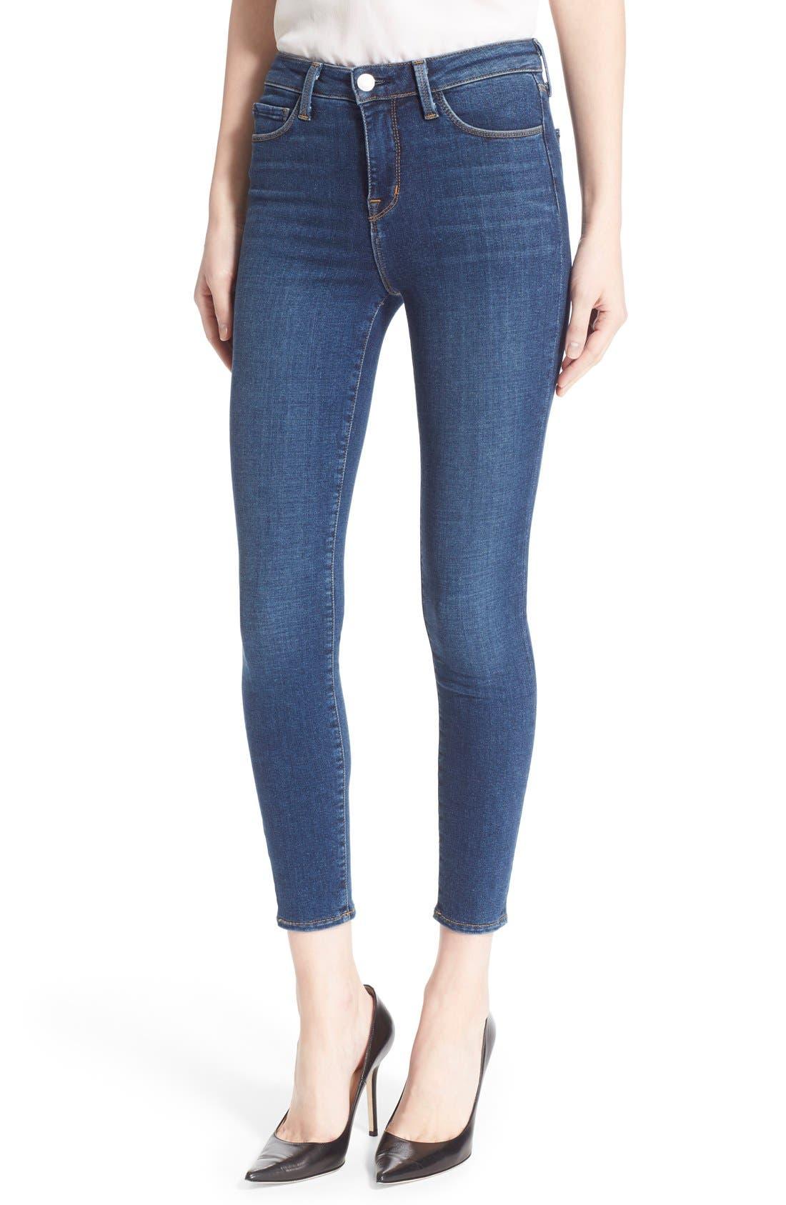 L'AGENCE Margot High Waist Crop Jeans