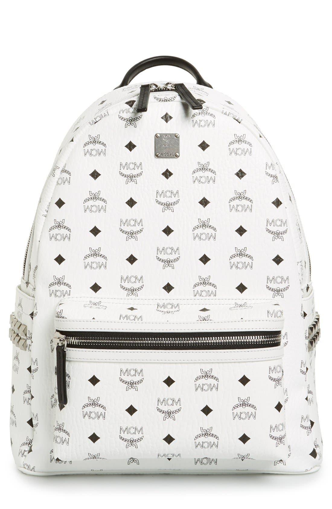MCM Medium Stark Side Stud Backpack