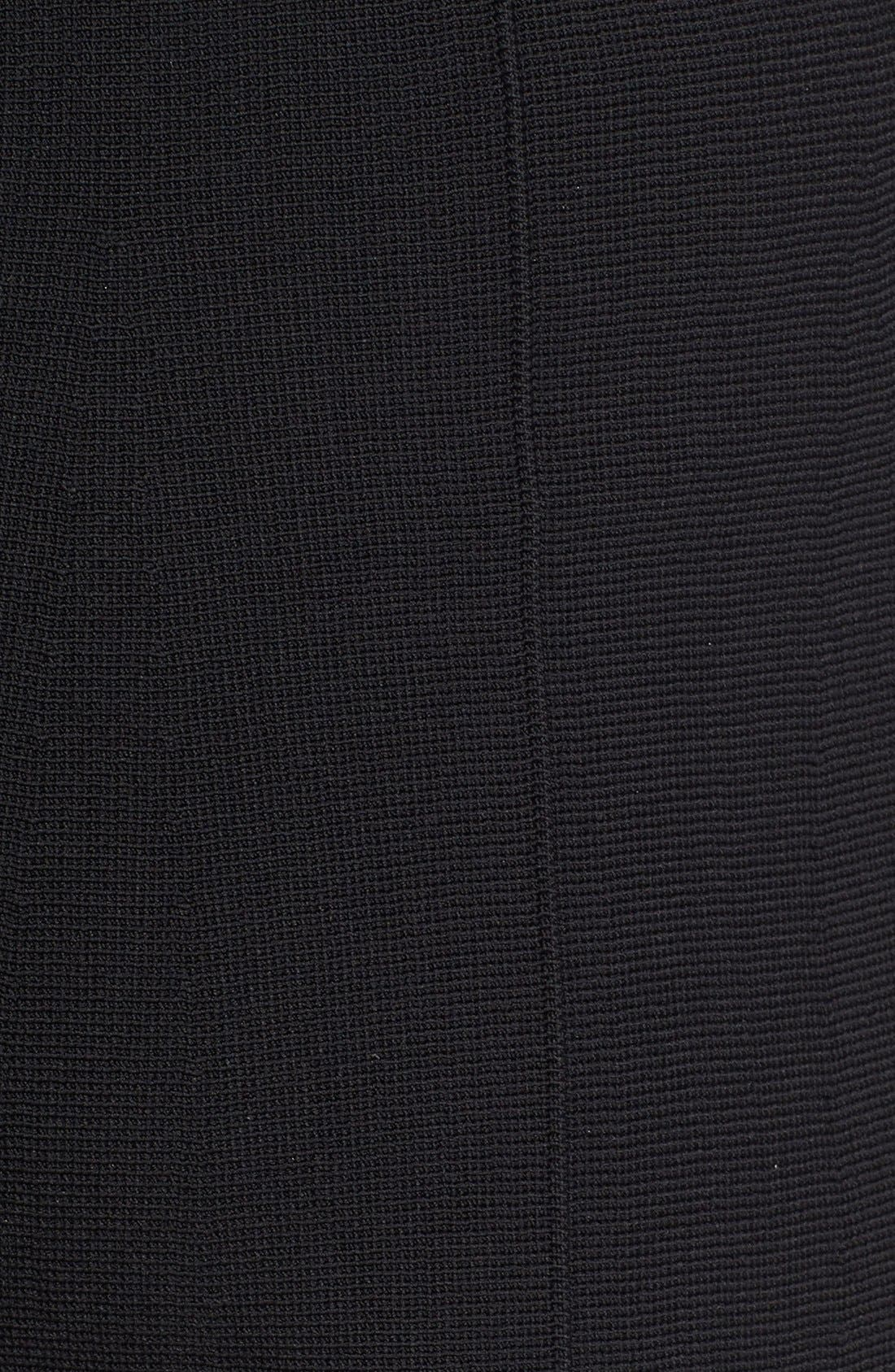 Knit Culottes,                             Alternate thumbnail 5, color,                             Black