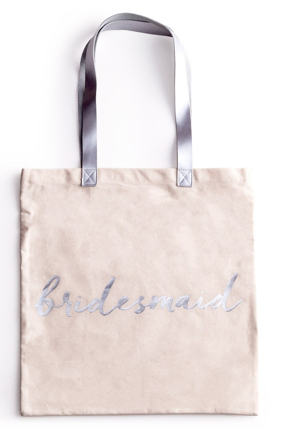 ROSANNA Bridesmaid Canvas Tote