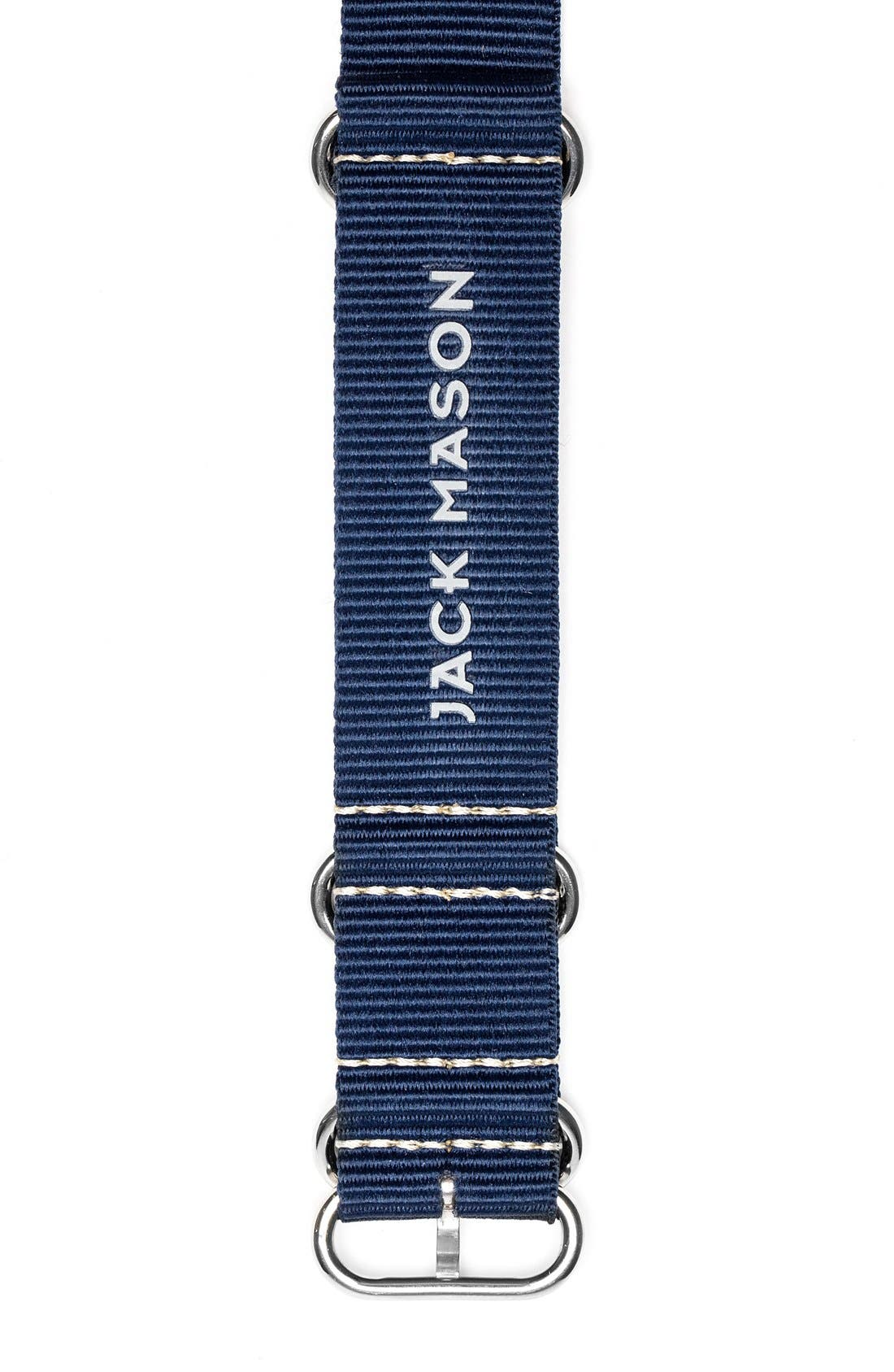 Jack Mason Nylon Nato Strap, 22mm