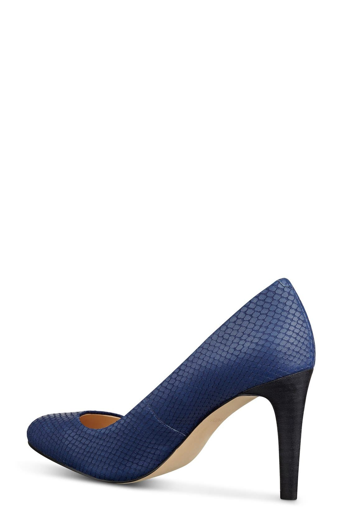 Alternate Image 4  - Nine West 'Handjive' Almond Toe Pump (Women)