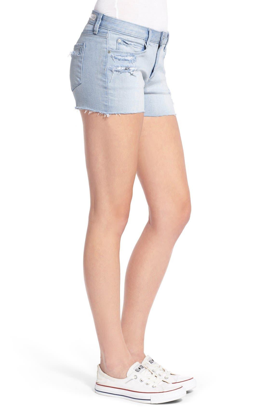 Alternate Image 4  - Articles of Society 'Madre' Denim Shorts (Cozumel)