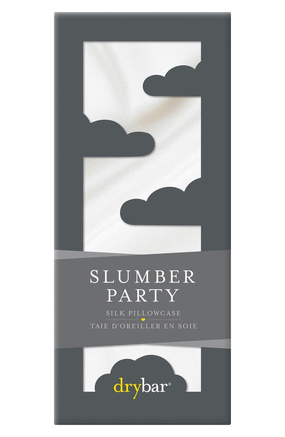 Slumber Party Silk Pillowcase,                             Main thumbnail 1, color,                             No Color