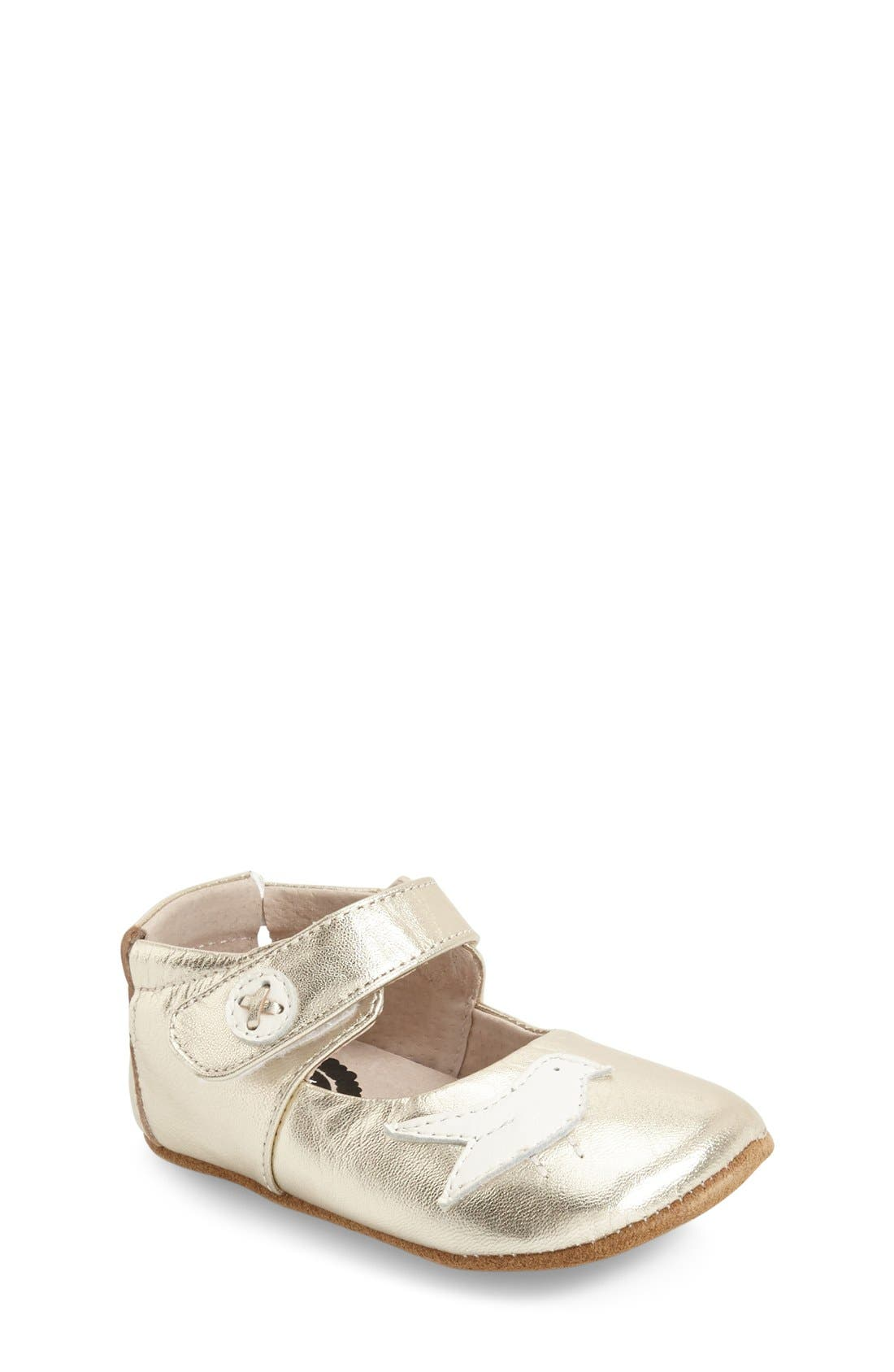 Livie & Luca Pio Pio Mary Jane Crib Shoe (Baby & Walker)