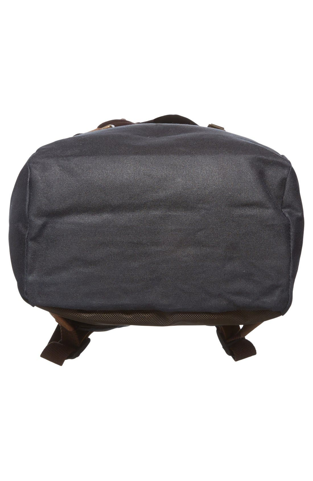 Alternate Image 6  - Barbour Waxed Canvas Backpack
