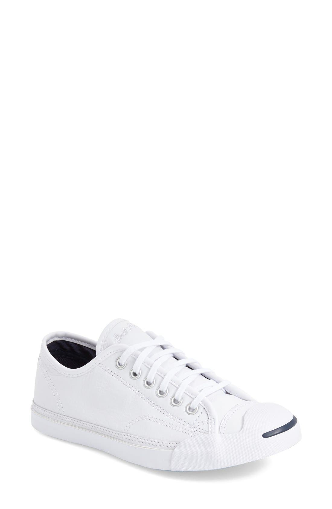 Alternate Image 1 Selected - Converse 'Jack Purcell' Low Top Sneaker (Women)