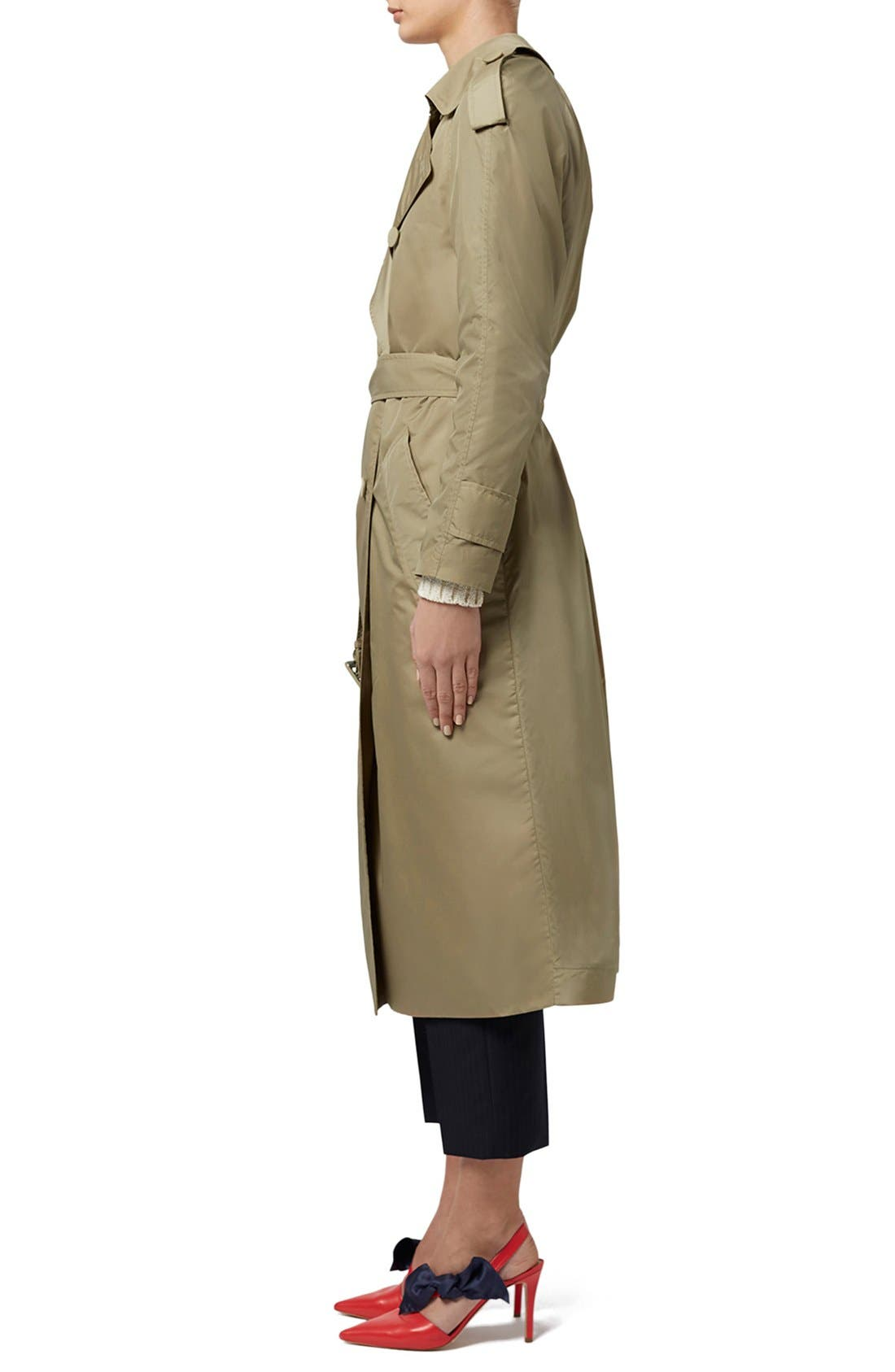 Alternate Image 5  - Topshop Unique 'Great Smith' Double Breasted Trench Coat