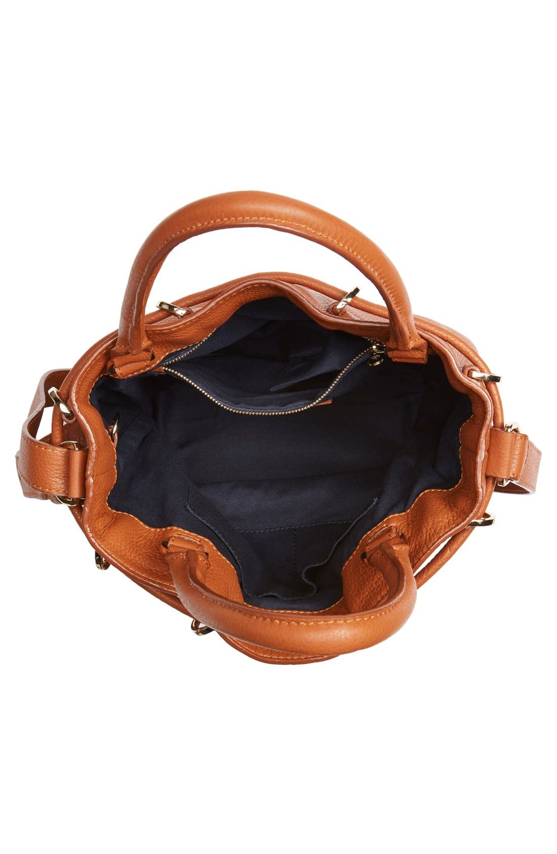 Alternate Image 4  - See by Chloé 'Vicki' Small Leather Bucket Bag