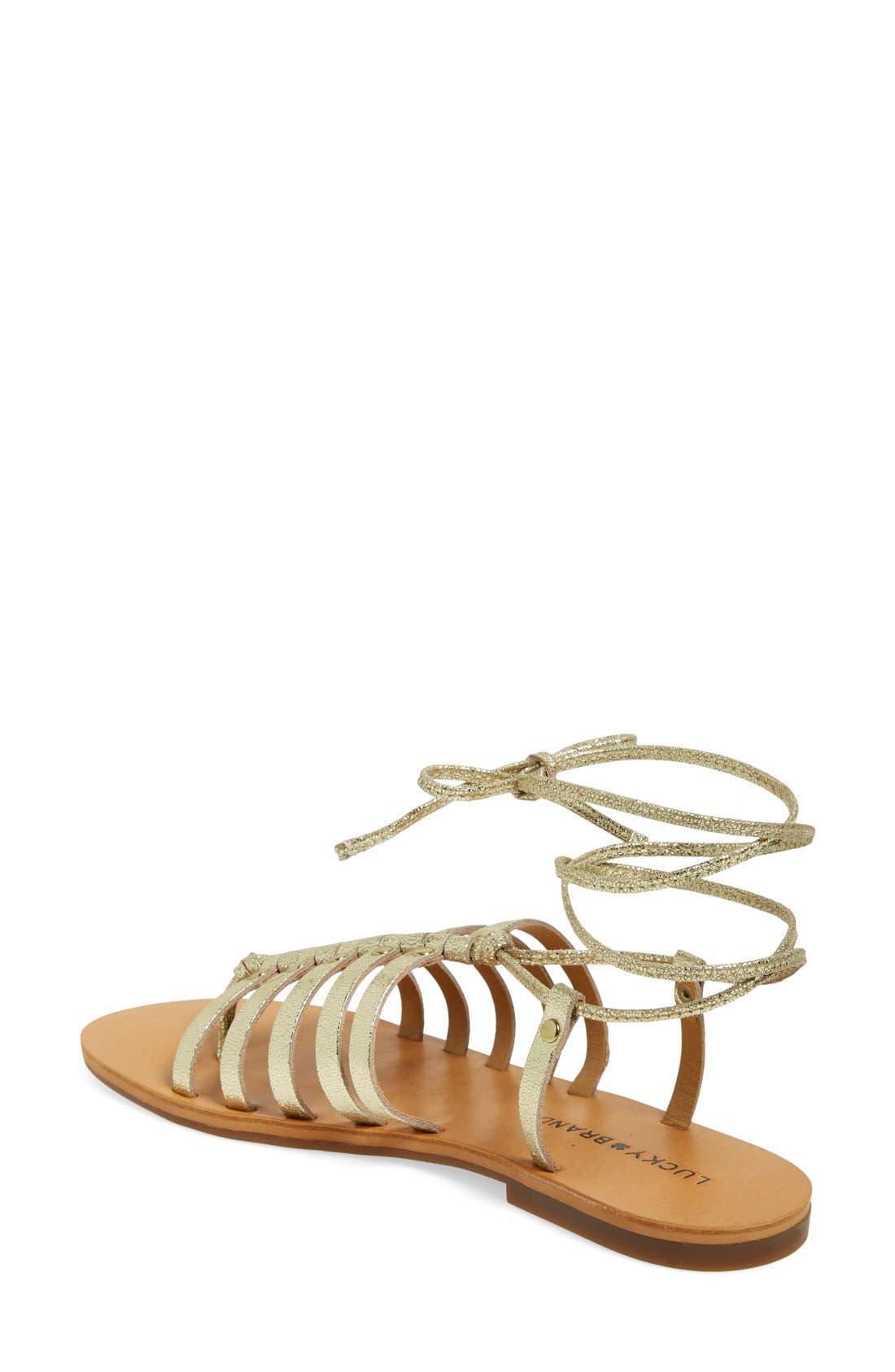 Alternate Image 2  - Lucky Brand 'Colette' Gladiator Sandal (Women)