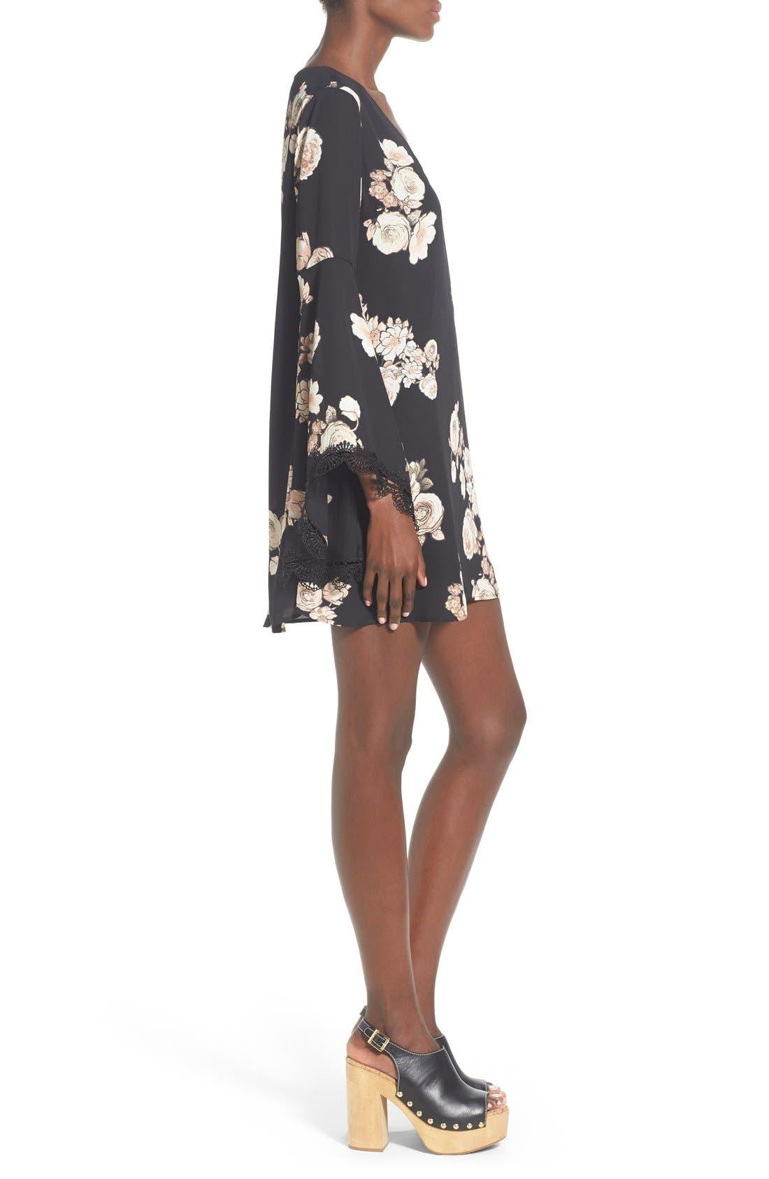 Alternate Image 3  - ASTR Lace Trim Shift Dress
