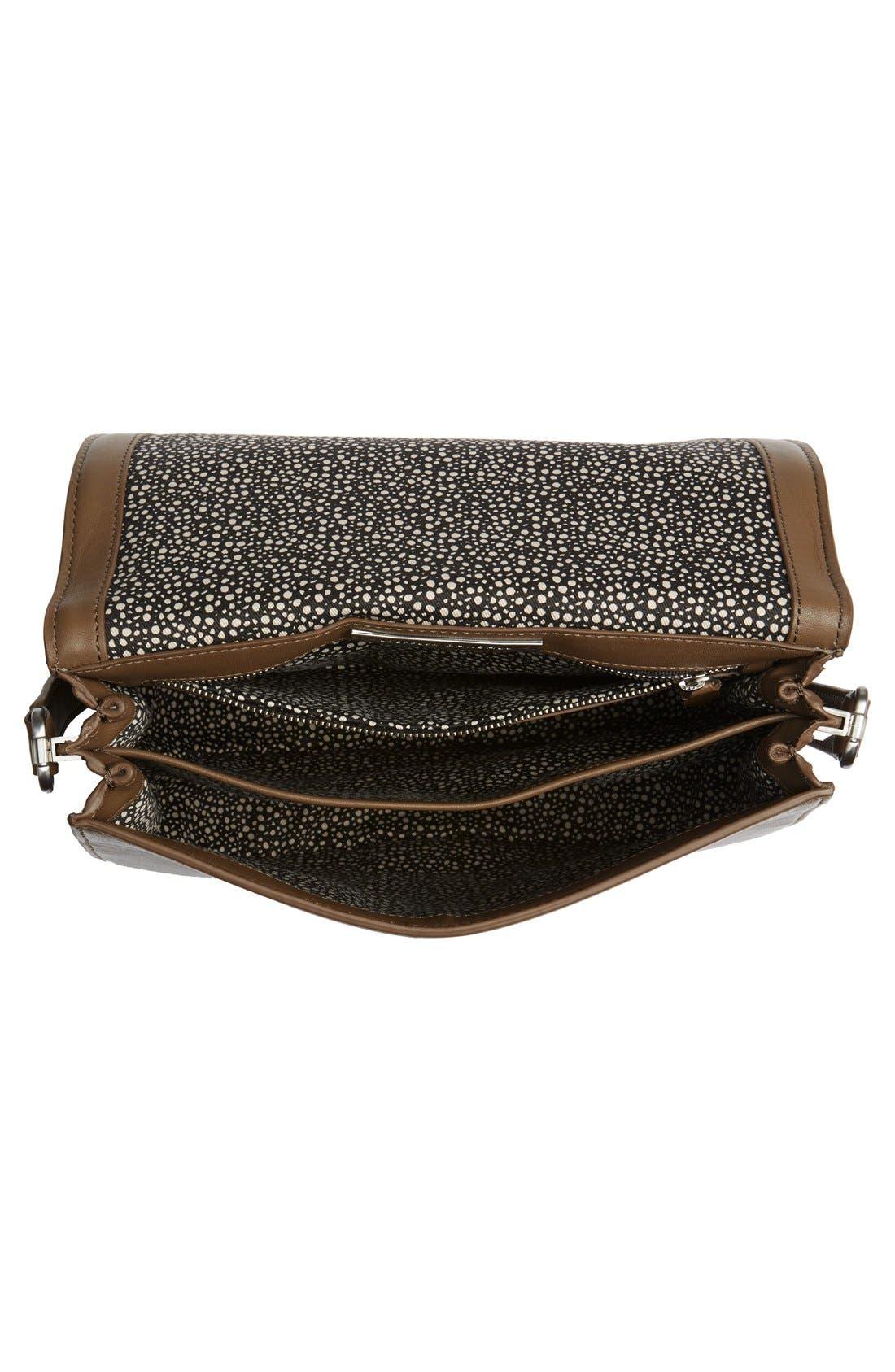 Alternate Image 4  - Loeffler Randall 'Large' Leather Saddle Bag