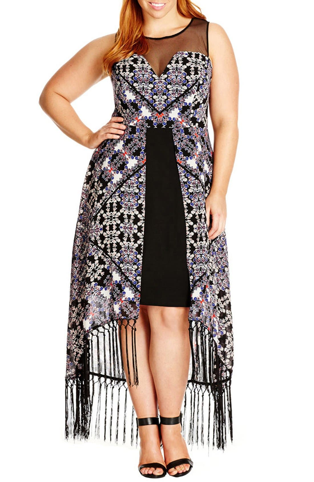 City chic tribal maxi dresses