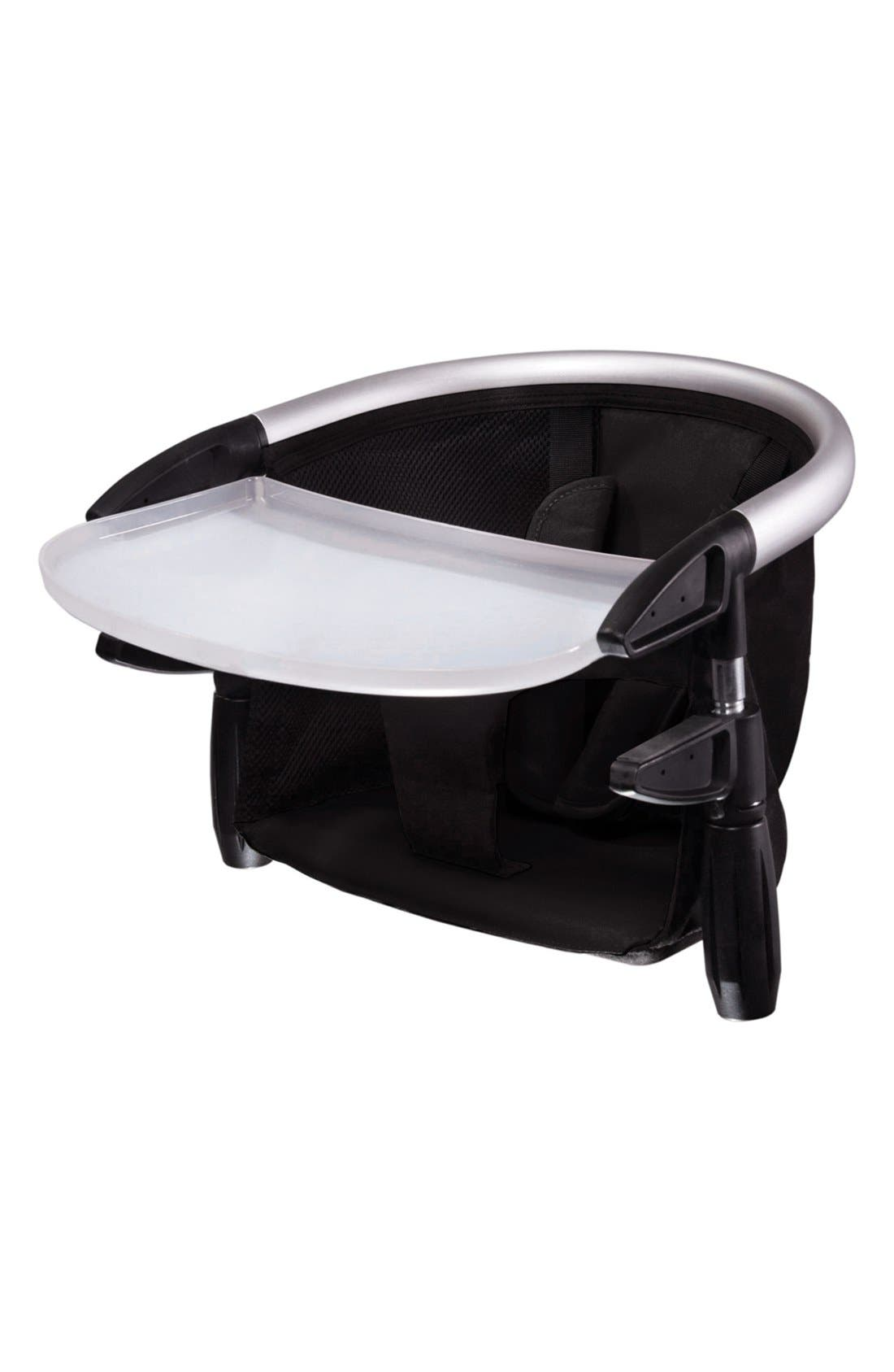 'Lobster<sup>™</sup>' Portable Clip-On Highchair,                             Main thumbnail 1, color,                             Black