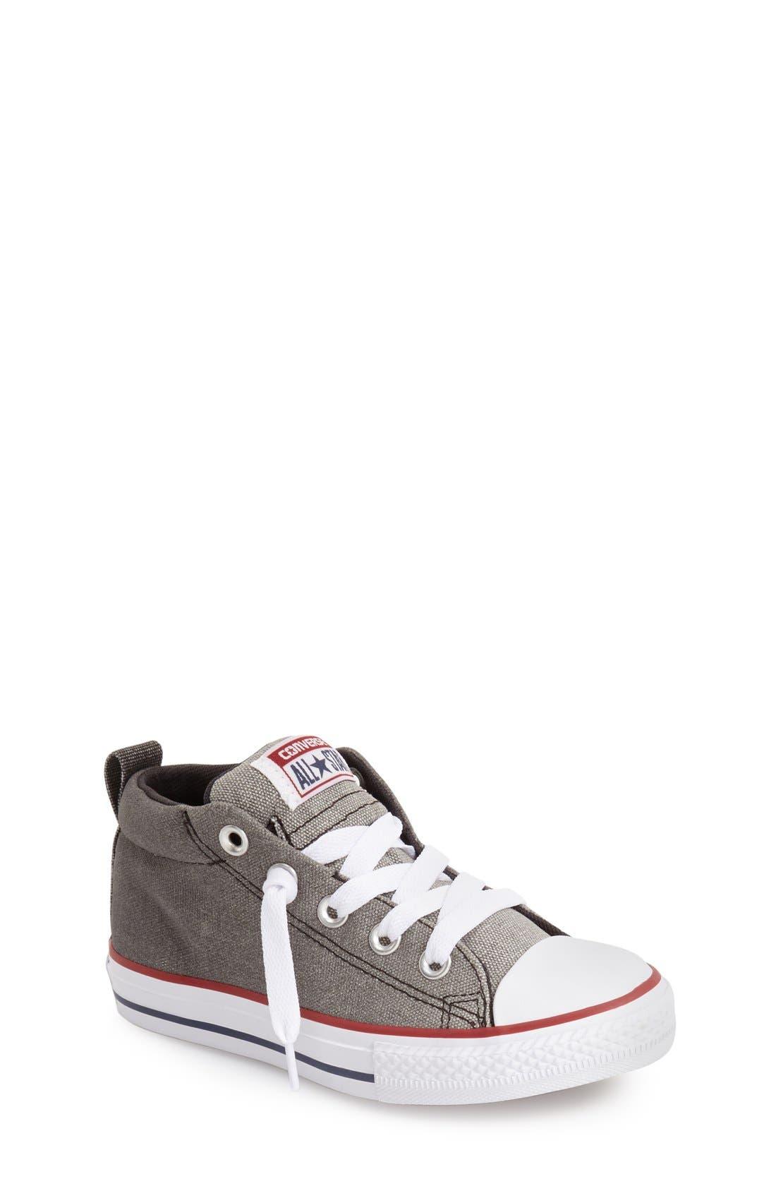 Converse Chuck Taylor® All Star® 'CTAS Street' Mid Sneaker (Baby, Walker, Toddler Little Kid & Big Kid)