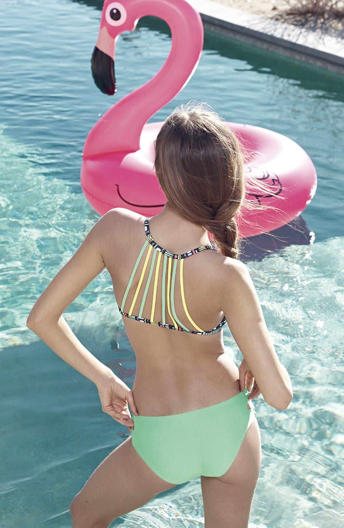 Alternate Image 2  - BigMouth Inc. Flamingo Pool Floatie