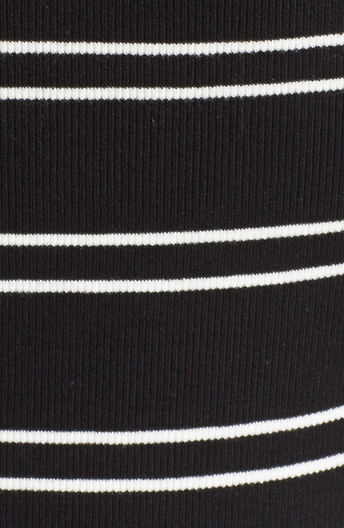 Alternate Image 5  - Free People 'Yacht Club' Stripe Off the Shoulder Tee