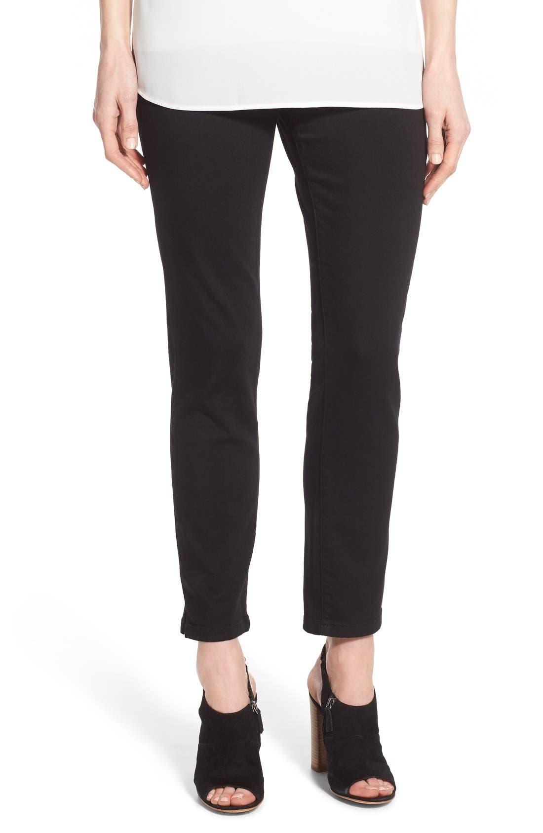 Alternate Image 1 Selected - NYDJ Millie Pull-On Stretch Ankle Skinny Jeans (Regular & Petite)