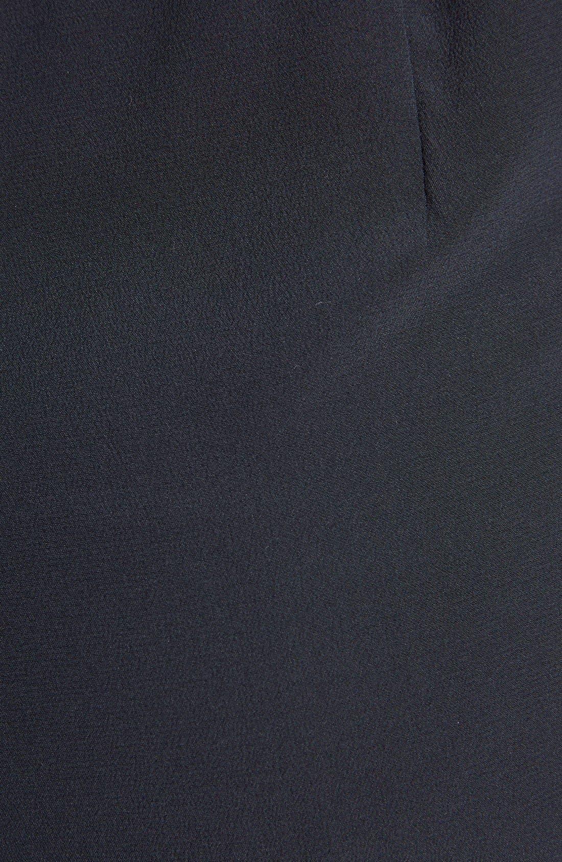 Alternate Image 4  - Chloé Fringed Floral Lace Trim Silk Shorts