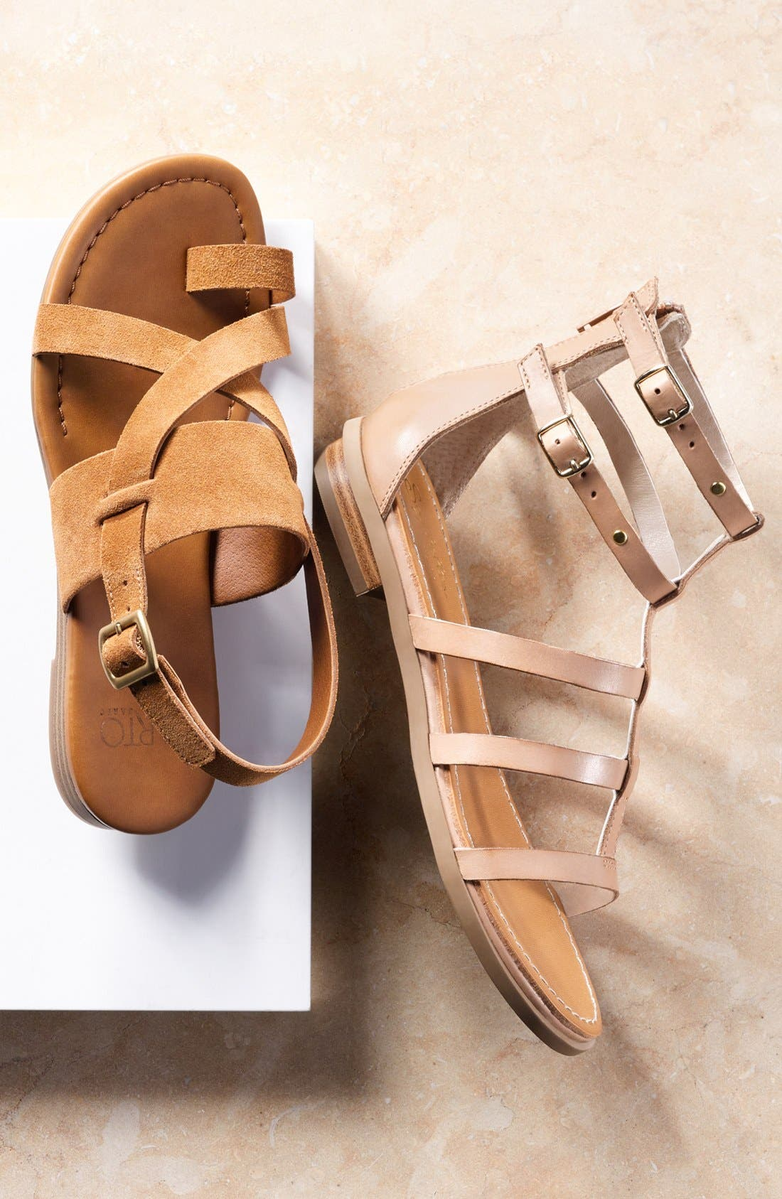 Alternate Image 5  - Seychelles 'Peachy' Gladiator Flat Sandal (Women)