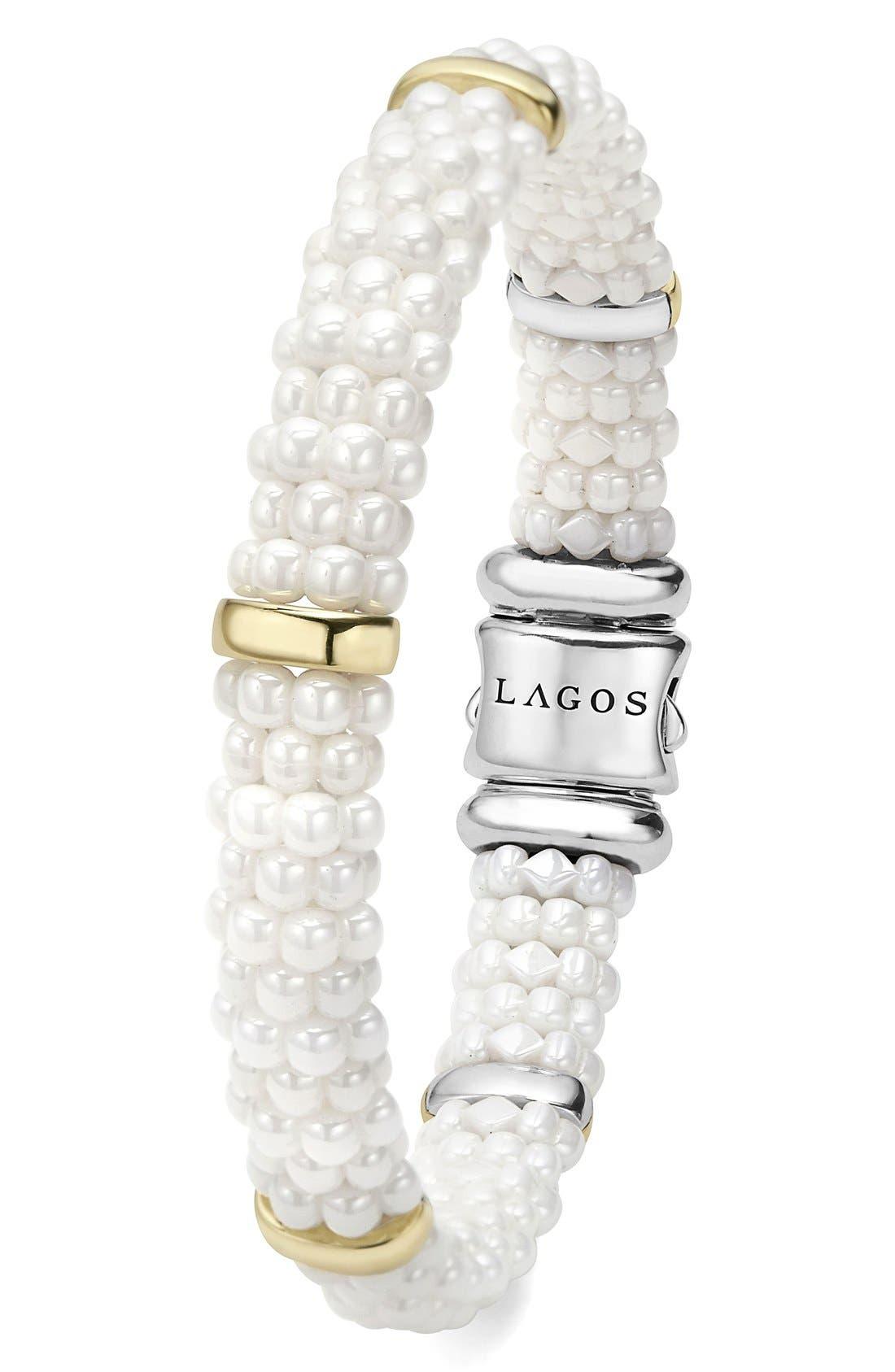 Alternate Image 3  - LAGOS 'White Caviar' Station Bracelet