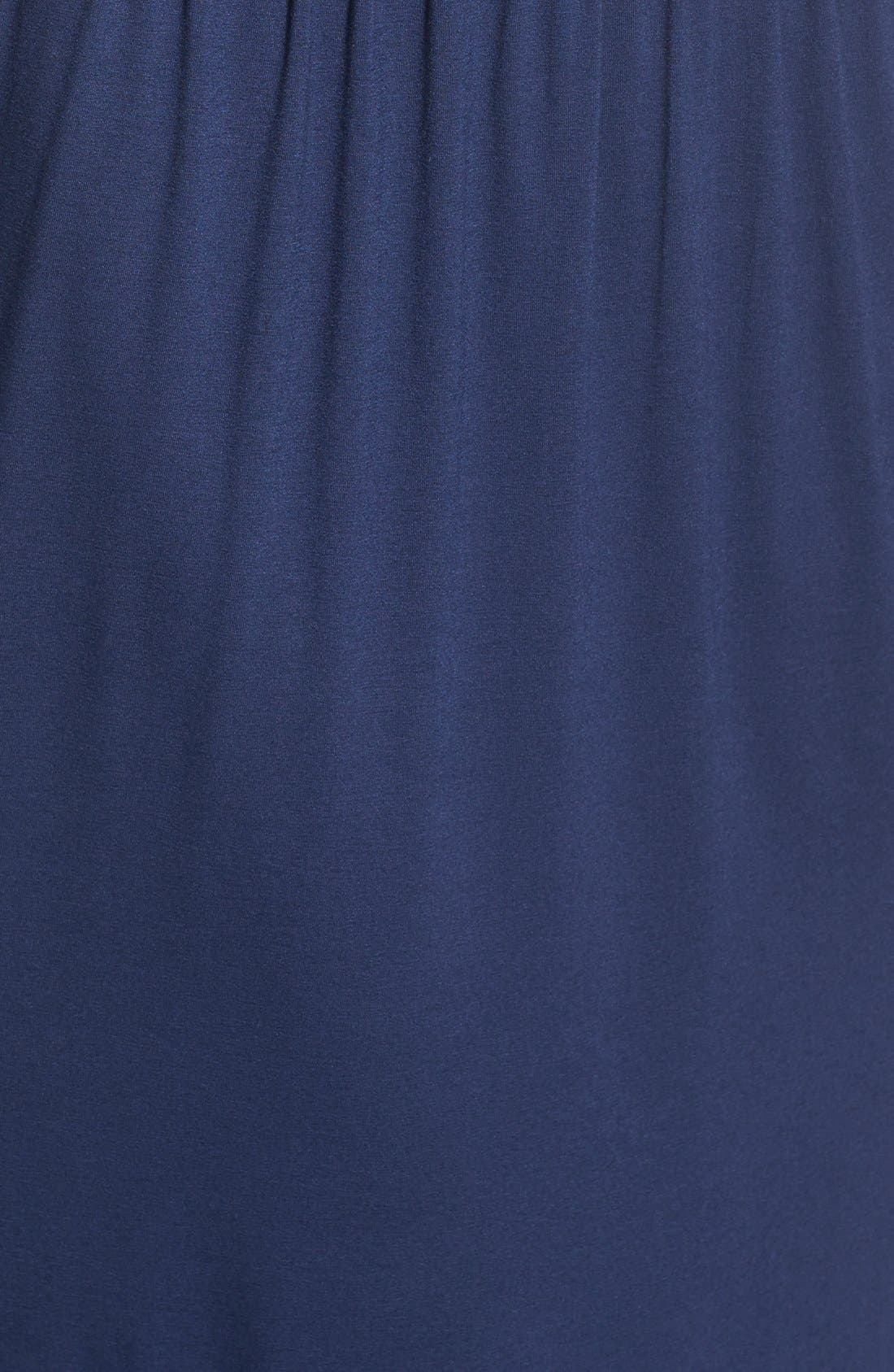 Alternate Image 6  - Lush High Neck Maxi Dress