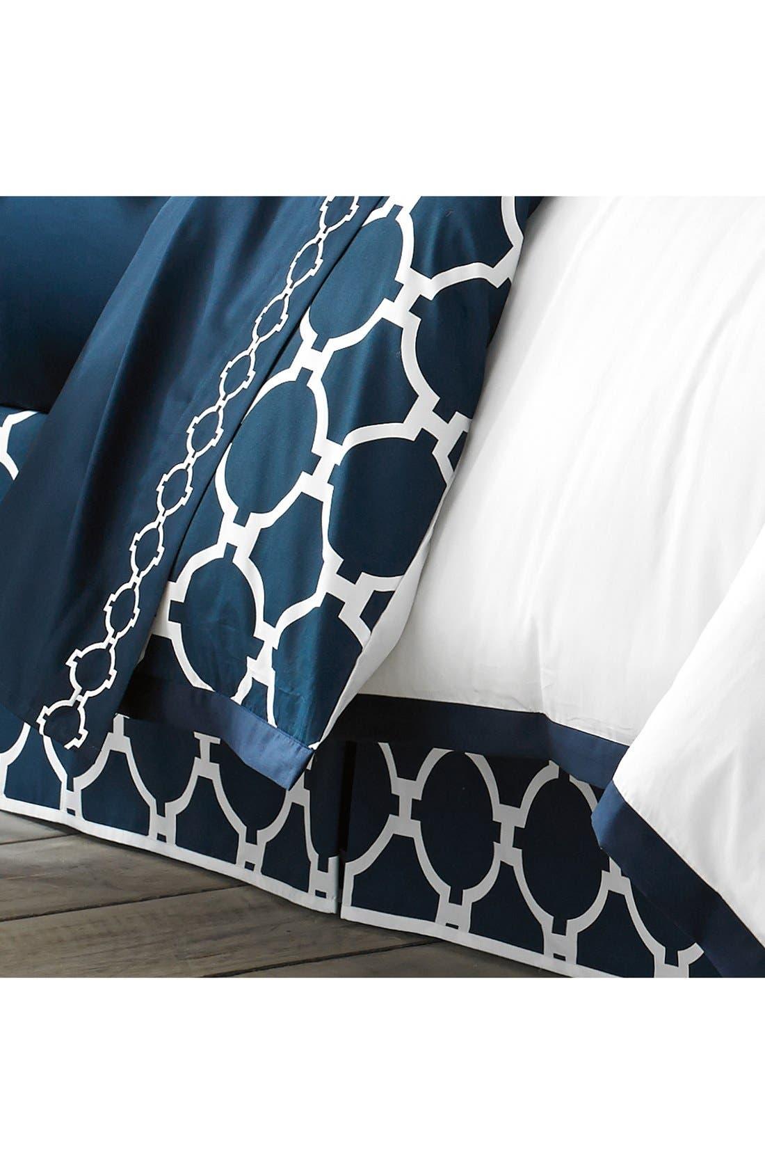 'Copley Hampton Links' Bed Skirt,                         Main,                         color, Navy