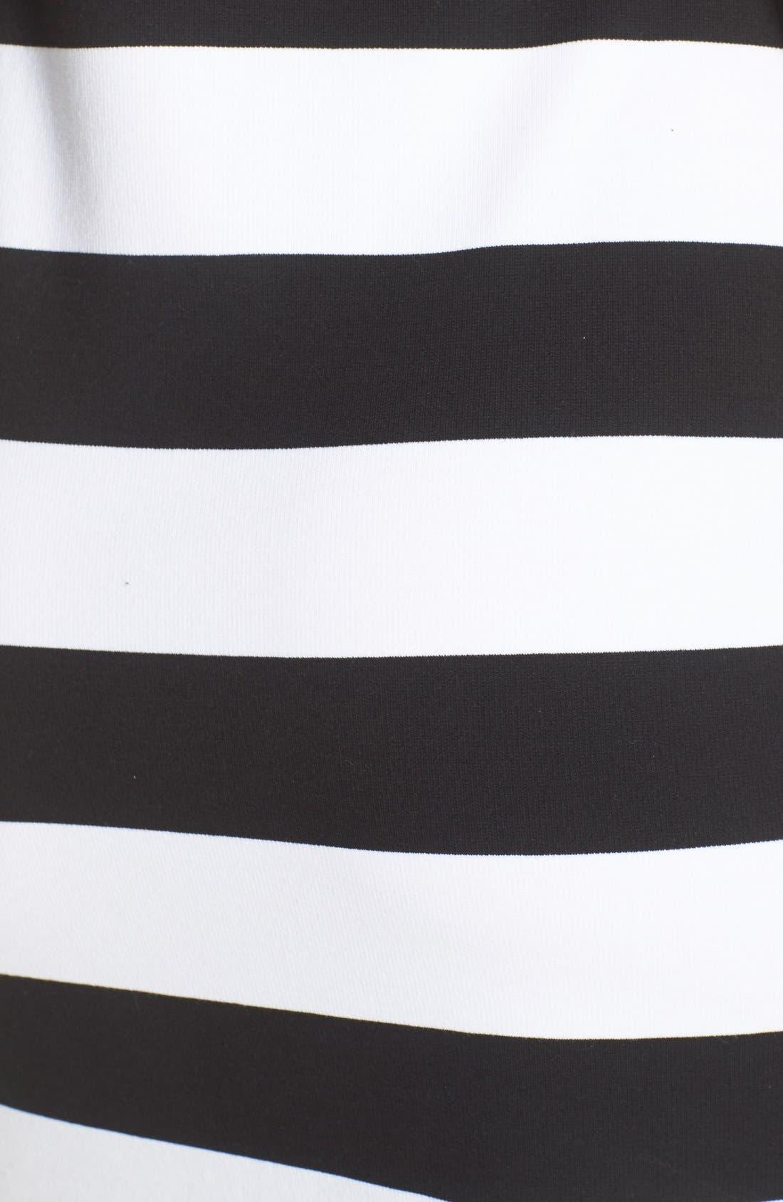 Alternate Image 5  - Felicity & Coco Stripe Midi Sheath Dress (Nordstrom Exclusive)