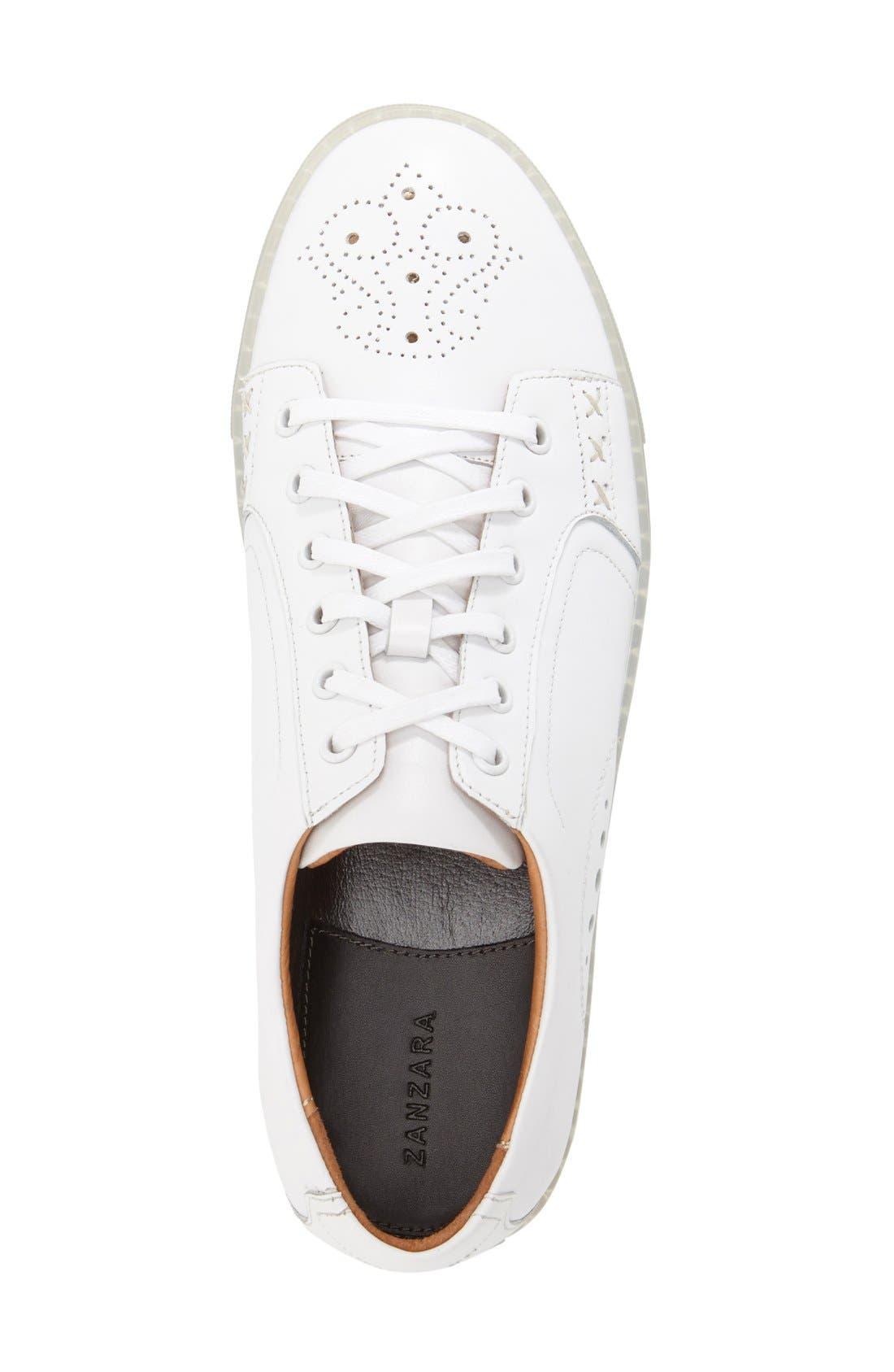 Alternate Image 3  - Zanzara 'Drum' Lace-Up Sneaker (Men)
