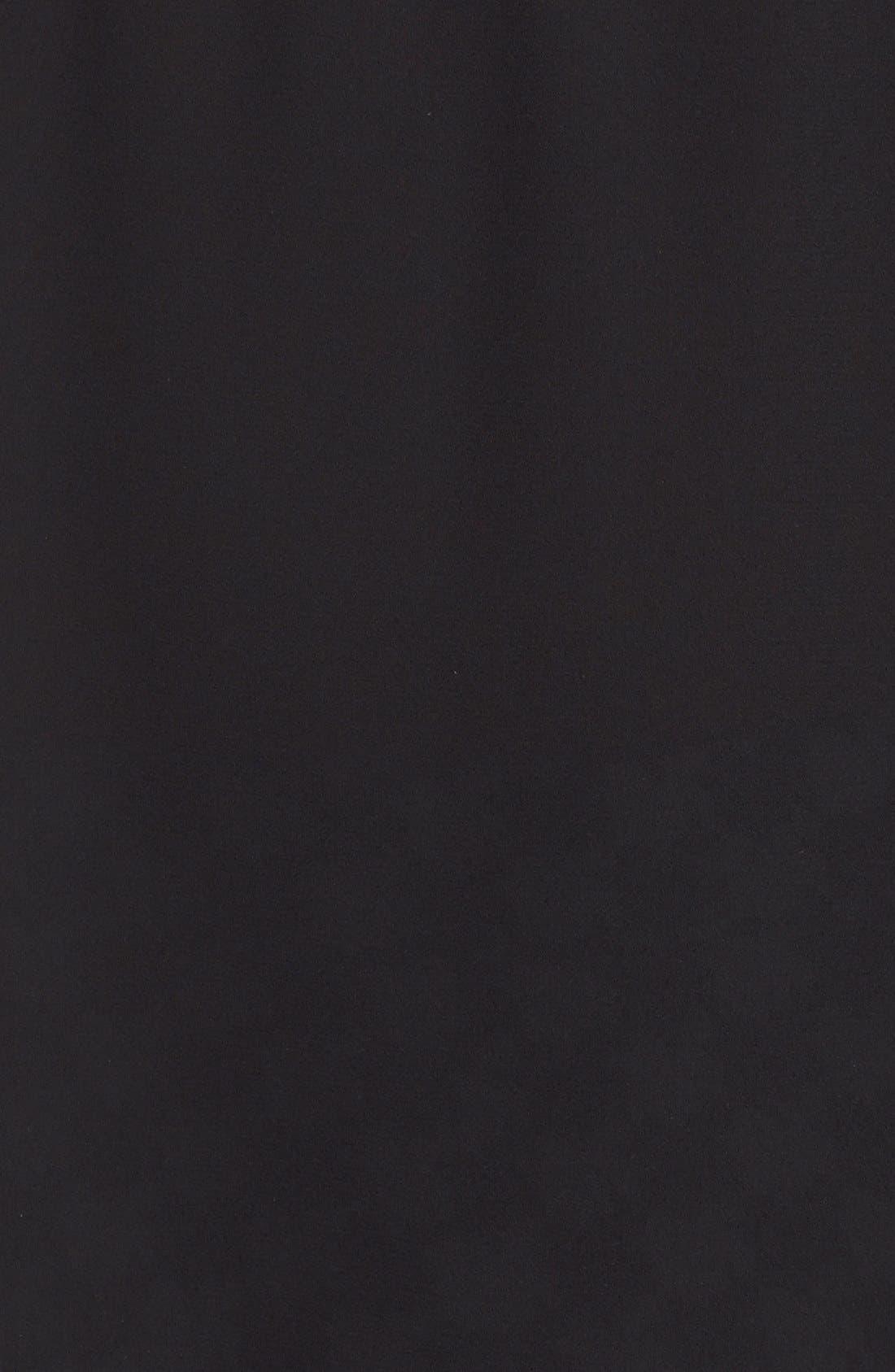 Loose Fit Trefoil Logo Tank,                             Alternate thumbnail 6, color,                             Black