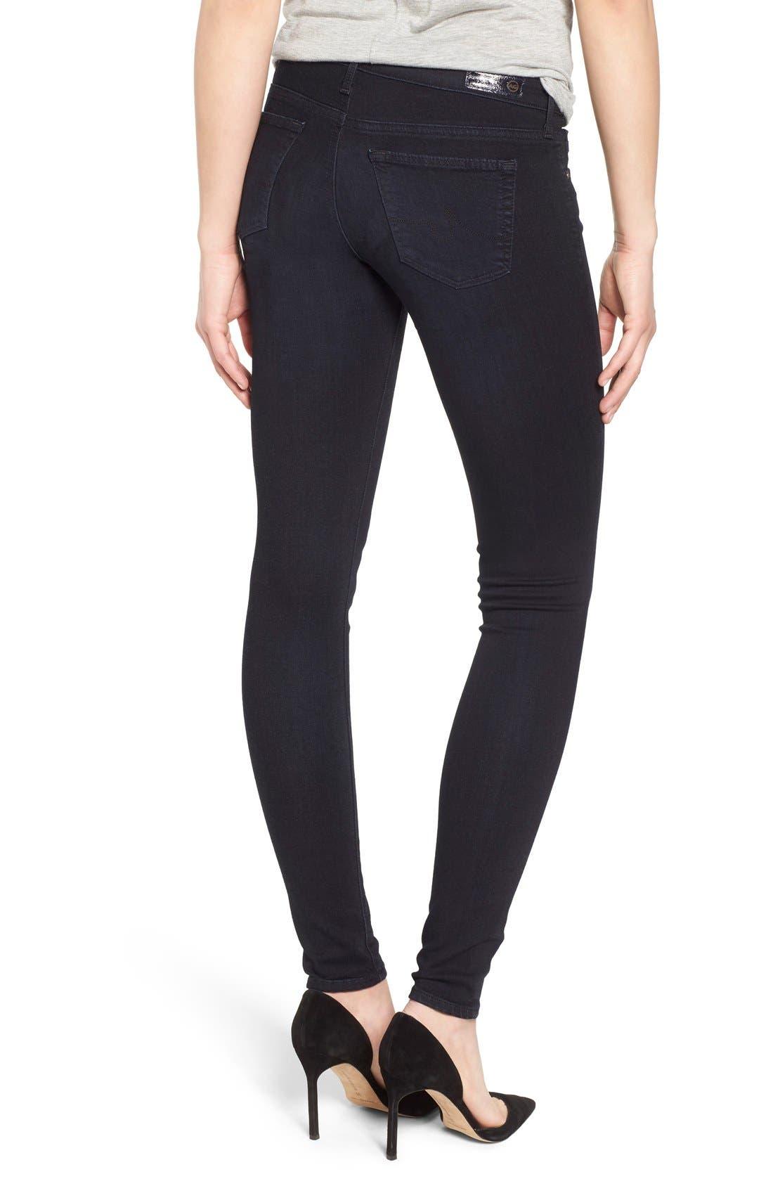 Alternate Image 2  - AG 'The Legging' Super Skinny Jeans (Shade)