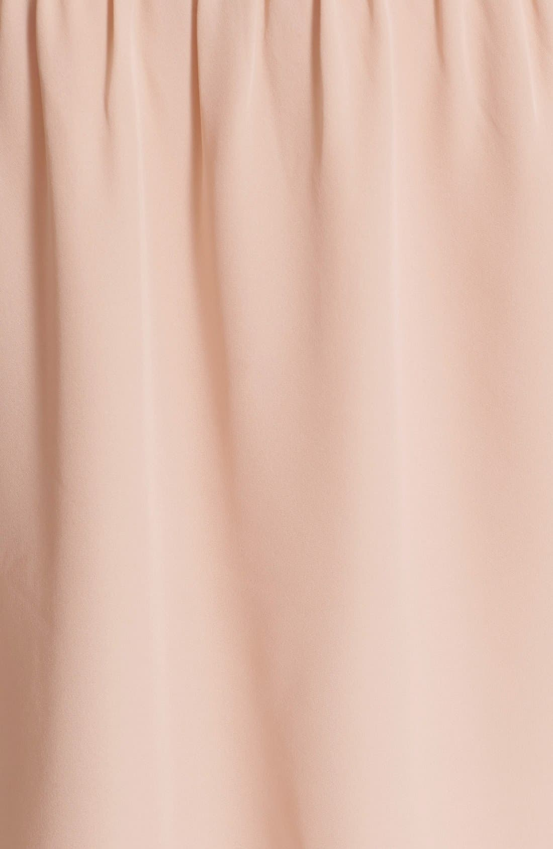 'Colfax' Off the Shoulder Silk Top,                             Alternate thumbnail 5, color,                             Garden Rose