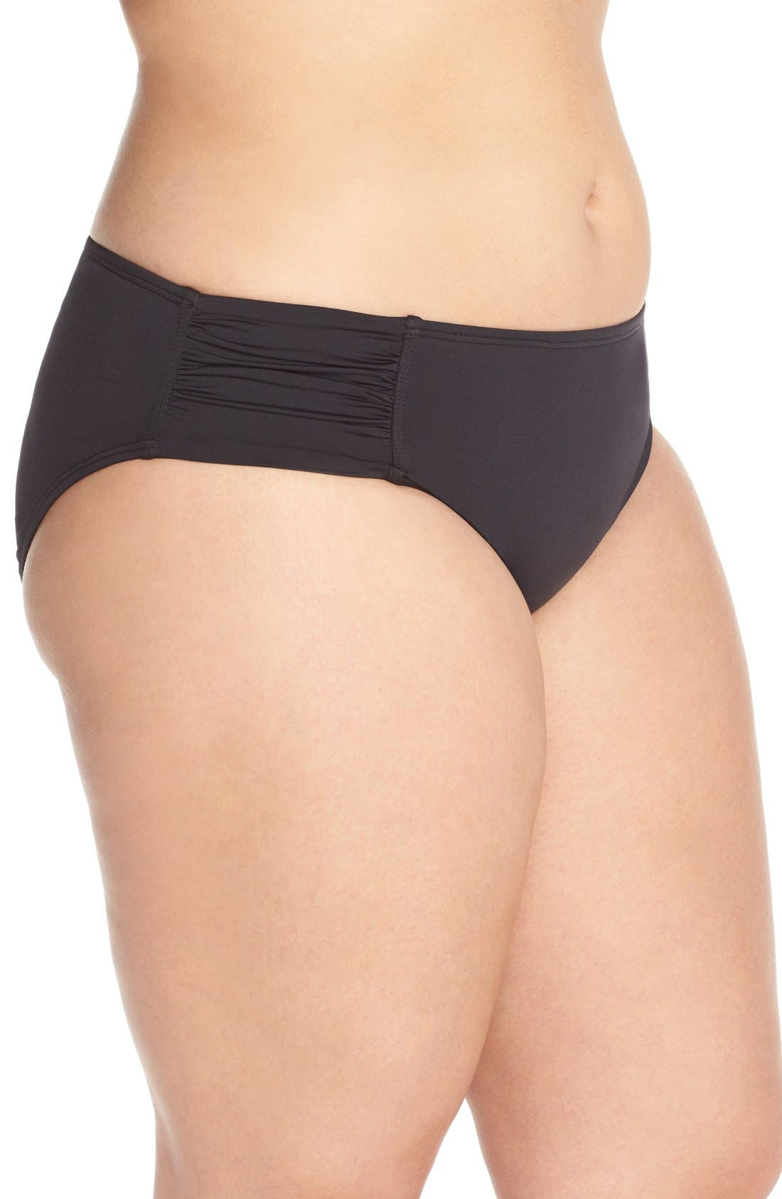 Alternate Image 3  - Tommy Bahama 'Pearl' Bikini Bottoms (Plus Size) (Nordstrom Exclusive)