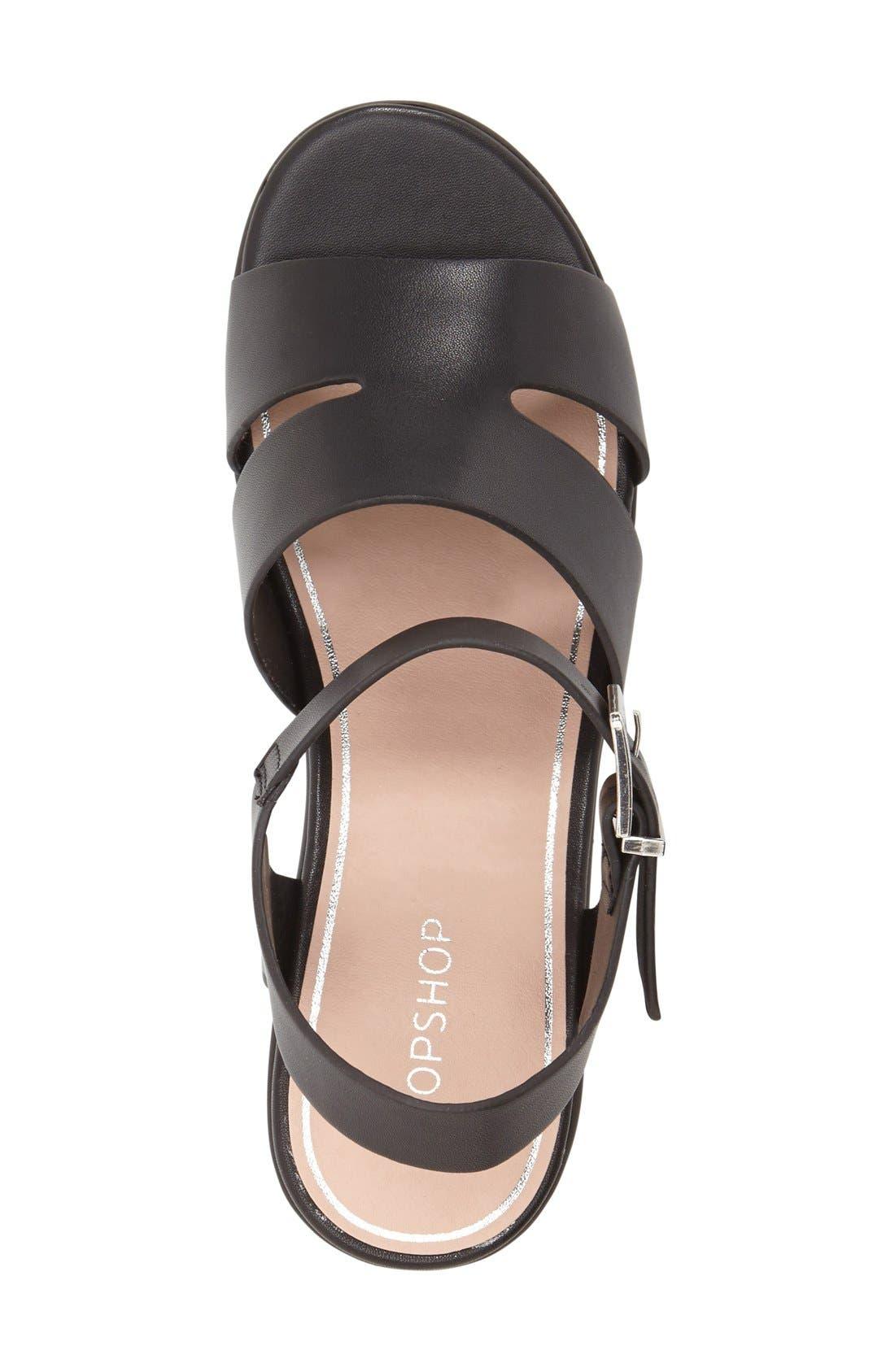 Alternate Image 6  - Topshop 'Den' Platform Sandal (Women)