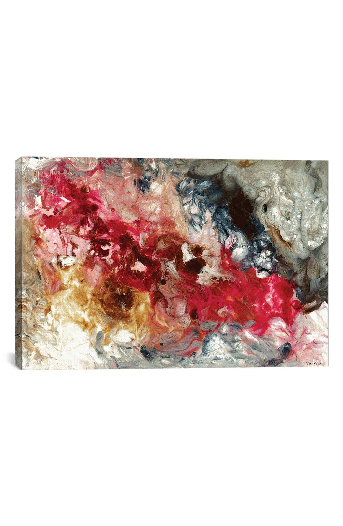 'Bitter and Sweet' Giclée Print Canvas Art,                         Main,                         color, Red